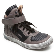 GF Ferre Lace Branded High Top TRAINERS