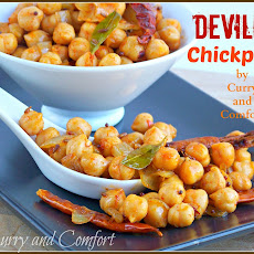 Deviled Chickpeas