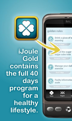 iJoule Gold - your healthcoach