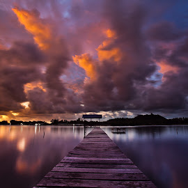 Moving Forward by Lawrence Chung - Landscapes Sunsets & Sunrises (  )