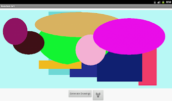 Screenshot of Random Art