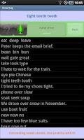 Screenshot of HearSay - Speak English!
