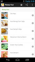 Screenshot of Resep Kue