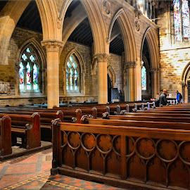 Take a pew by Nic Scott - Buildings & Architecture Places of Worship ( church, pews, seats )