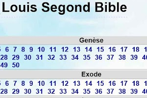 Screenshot of Louis Segond Bible
