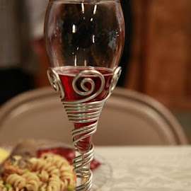 Beautiful toasting flutes by Judy Maxwell by Alena Hixon - Food & Drink Alcohol & Drinks (  )