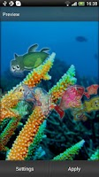 Screenshot of Sea Animals Live Wallpaper
