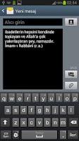 Screenshot of Cuma Mesajları