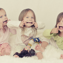 Funny faces :) by Lucia STA - Babies & Children Child Portraits