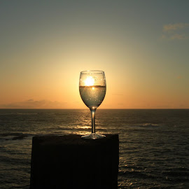 Sunset wine by Doug Doner - Food & Drink Alcohol & Drinks