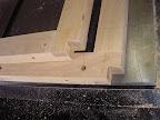 Notch frame corners