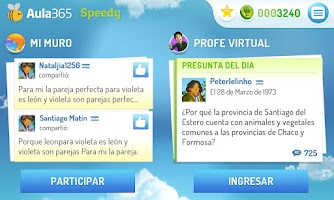 Screenshot of Aula365, aprende diferente