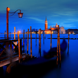 San Giorgio Maggiore, Grand Canal. Venice  by Dharmali Kusumadi - City,  Street & Park  Skylines