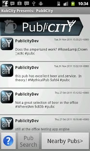 Kukcity presents: PubliCity - screenshot