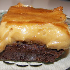 Broiled on Peanut Butter Topping for Cakes & Brownies