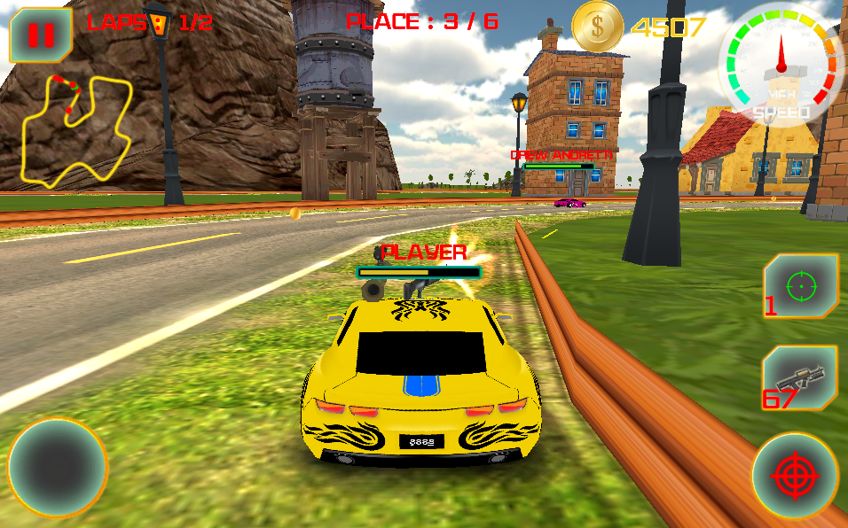 Extreme Crazy Car Racing Game Screenshot 4