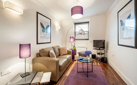 Voluminous One Bedroom Serviced Apartment in Marylebone Village