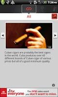 Screenshot of Country Facts Cuba