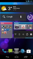 Screenshot of Nemus Launcher
