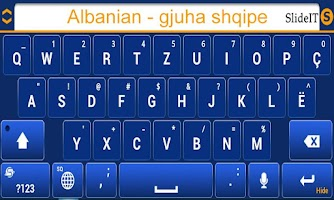 Screenshot of SlideIT Albanian Pack