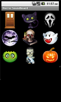 Screenshot of Horror Halloween Soundboard