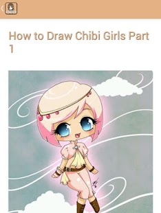 How to Draw Chibi Girl - screenshot