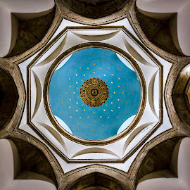 Chideock Church by Rick McEvoy - Buildings & Architecture Architectural Detail ( building, church, ceiling, www.rickmcevoyphotography.co.uk, rick mcevoy photography, chideock, buildings, commercial shoot, ceilings, architecture )