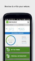 Screenshot of H&R Block 1040EZ