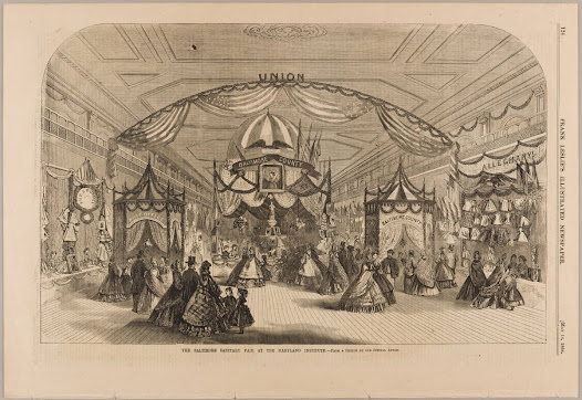 """Baltimore Sanitary Fair."" Frank Leslie's Illustrated Newspaper. New York: F. Leslie, May 14, 1864."