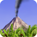 Smoking Volcano Live Wallpaper icon