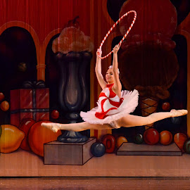 Candy Cane by Erin Baker - Sports & Fitness Other Sports ( nutcraker, candy cane, ballet, leap, dancer )
