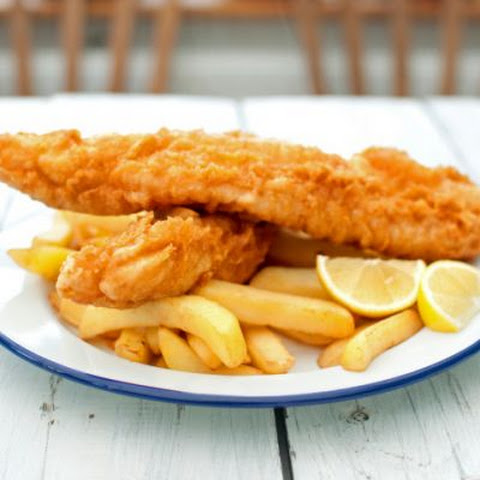 Classic British Fish and Chips