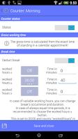 Screenshot of Work Calendar