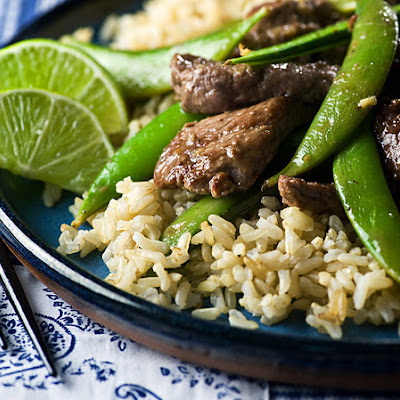 Beef Stir-Fry with Sugar Snap Peas