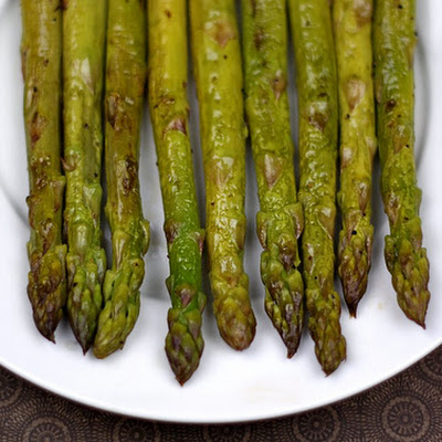 Roasted Asparagus with Balsamic Vinegar
