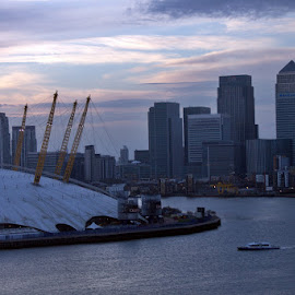 Canary Wharf and the Millennium Dome by MJoão Ferreira - Buildings & Architecture Other Exteriors