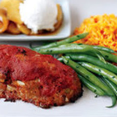 Spicy Spanish Mini Meat Loaves and Piquillo Pepper Rice