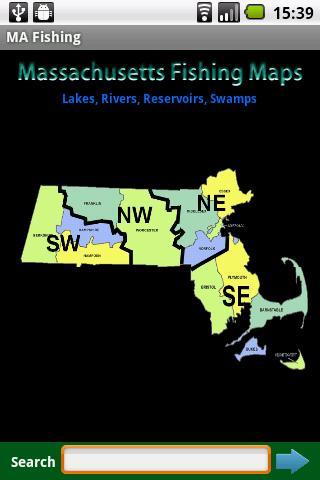 Massachusetts Fishing Maps-6K