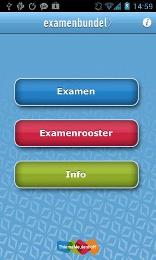 Examenbundel VMBO 2013
