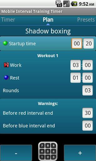 Mobile Interval Training Timer