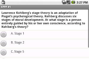 Screenshot of EPPP Exam Prep (Psychology)