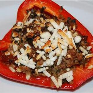 Lamb Stuffed Peppers Greek Recipes