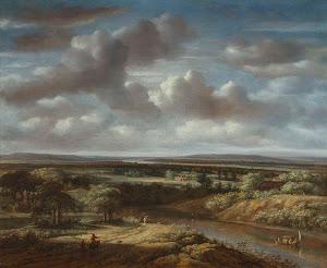 RIJKS: Philips Koninck: painting 1676