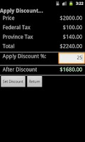 Screenshot of Canadian Sales Tax (Lite)