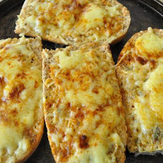 Crunchy Cheese Toasts