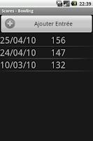 Screenshot of Scores