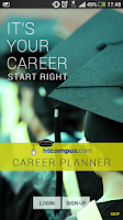 Screenshot of HTCampus Career Planner