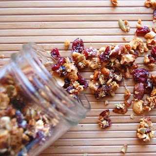 Sweet & Salty Homemade Granola