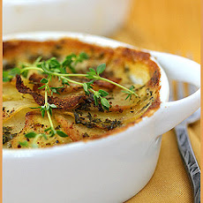 Potato and Celeriac Gratin