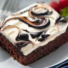 Hot Fudge Swirl Cake
